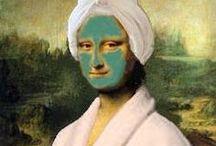 Mona Lisa / Mona Lisa Parodies and More! / by Teach Kids Art