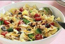 Pasta Recipes / So easy, you hardly have to use your noodle to enjoy the endless versatility of pasta in these great recipes.  / by Kraft what's cooking - Canada