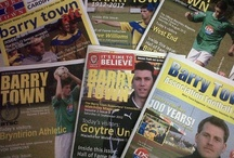 Archive - Programmes / by Barry Town United