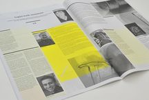 editorial & layout / layout design / editorial design / grid / by Claire Vincent