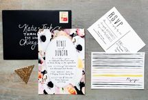 Save the Dates & Invites / by Spark Weddings and Events