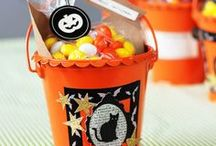 Halloween Project Ideas / Boo! Halloween collections from American Crafts, such as Nightfall and Pumpkin Patch #halloweenideas #scrapbooking #papercrafts / by American Crafts