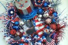 Wreaths,Patriotic / by Yvonne Naudack