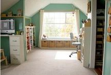 Home - Craft Room / by Michelle Coffeen