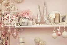 """A """"Pretty In Pink"""" Christmas / by Christmas Central"""