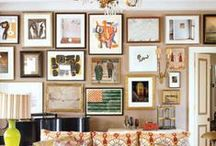 Interiors | Picture Walls | / by Fourth Floor Walk Up
