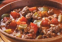 Soups,Stews,Chili & Gumbos / by Sherry Hebert