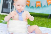 first birthday / by Caroline Edwards | chocolate and carrots