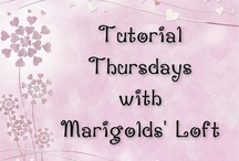 "Tutorial Thursday Features / The weekly featured ""Most-Viewed"" links that are hosted on Marigolds' Loft Tutorial Thursdays / by Natalie Buehler"