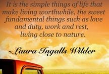 Live a Simpler Life / A reminder to slow down and enjoy the little things in life... / by Jenna