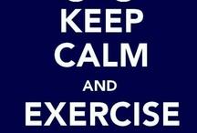 exercize / by Pamela Hayes