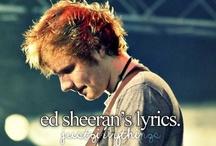 Ed Sheeran<3 / by Jordan Gray