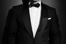 Black / by Black Tie Wedding Invitations