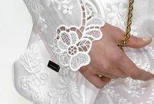 White / by Black Tie Wedding Invitations