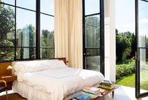 beautiful bedrooms / by Jill Squier
