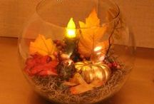 Fall Decor Ideas | Fall Crafts / Decorate for Fall | Autumn with fall decorating ideas and fall crafts. / by GirlfriendShoes - Sarah