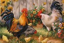ART ~ Chicken/Rooster / by Cindy Howe RagtopDesigns