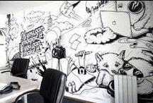 Office Ideas / Ideas for the office!  / by David Levett