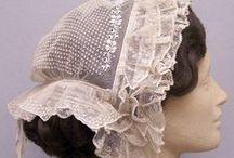 1860's Caps & Headresses / by Linda Smith