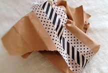 Packaging & Gift Wrap / Wrapping ideas, mostly craft inspired for professionally packaging a product of gift wrapping for a dear friend. / by April Louise