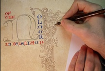 Exempla Varia: Calligraphy / Miscellaneous calligraphy examples and images to inspire the imagination. / by Illuminations by Lynnea