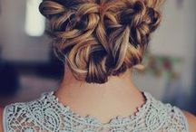 Hair / Beautiful hairstyles and tricks for taming hair. / by April Louise