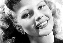 "Rita Hayworth / ""All I wanted was just what everybody else wants, you know, to be loved."" - Rita Hayworth / by Frankly MyDear"
