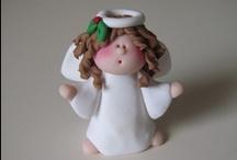 Cold Porcelain & Fondant Figures / by Mima Fabiola Castro