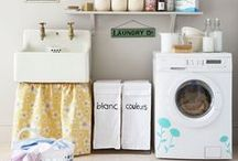 the laundry room / by april @ wildflowers + whimsy