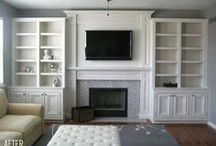 the living room / by april @ wildflowers + whimsy