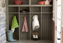 the mud room / by april @ wildflowers + whimsy