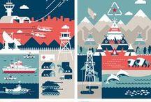 Design - Illustration & Icons / Well established and upcoming illustrators. / by Esben Hindhede