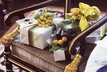 Gifting / A quick reference of great personalized gifts and beautiful gift wrapping / by Shanna Nicole Design