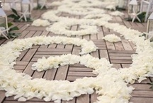 Pew Markers | Aisle Decor / by Shanna Nicole Design