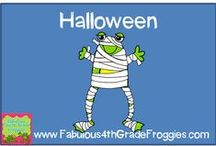 Halloween in the Classroom / by Fabulous 4th Grade Froggies