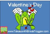 Valentines Day in the classroom / by Fabulous 4th Grade Froggies