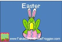 Easter / by Fabulous 4th Grade Froggies