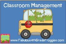 Classroom Management/ Behavior / by Fabulous 4th Grade Froggies