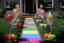 Birthday party ideas / by Monique Gordon