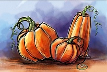 Illustrations - Autumn / Thanksgiving / by LT