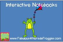 Interactive notebooks / by Fabulous 4th Grade Froggies