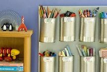 Organizing & Decluttering / A collection of life hacks, organizing tips for the home, storage solutions, and decluttering advice. / by Tsh Oxenreider