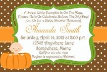 Kayla's Baby Shower (Lil' Pumpkin) / by Jennifer Steele