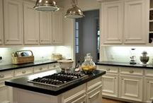 New House Kitchen Inspiration / ideas for updating my new kitchen / by Debra Oliver (Common Ground)