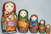 Matrioshka / Russian Nesting Dolls / by Rosie Sobiesiak