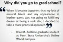 Grad & Professional School / Considering graduate or professional school after Davidson?  / by Davidson Center for Career Development
