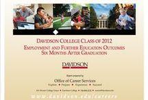 "Alumni: Where They Are Now / Senior Surveys (""Destination Surveys"") - See where Davidson alumni have gone after graduating from Davidson / by Davidson Center for Career Development"