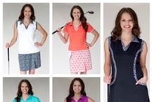 GolfHER Spring 2014 ~ ladies golf apparel / Lower your fashion handicap with fashionable/functional ladies golf apparel. Looks are available 2/14/14  Visit us online at www.golfhergirl.com / by GolfHER ~ ladies golf apparel
