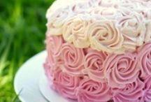cakes / by Jacki Borgmeyer