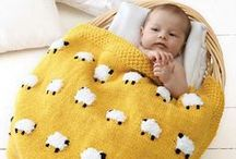 Knit Baby Blankets / by Lion Brand